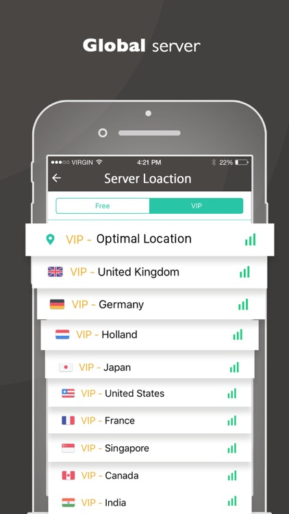 VPN Master Pro - Unlimited & Secure VPN Proxy screenshot-3