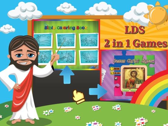 Screenshot 1 For LDS Mormon Coloring Book And Jesus Christ Jigsaw