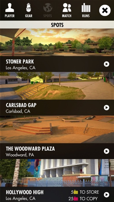 Screenshot for Skater - Skate Legendary Spots in Qatar App Store