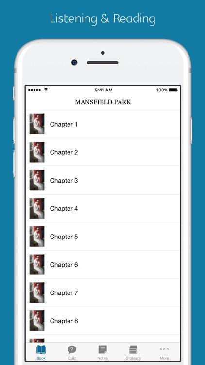 Mansfield Park - quiz, sync transcript