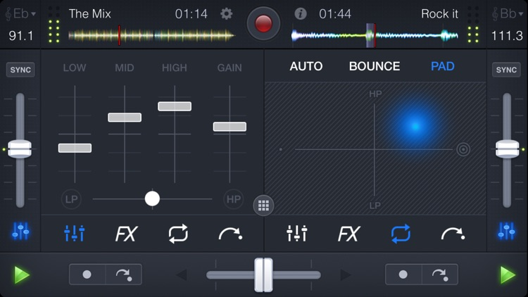 djay 2 for iPhone screenshot-4