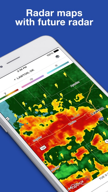 The Weather Channel: Forecast, Radar & Alerts app image