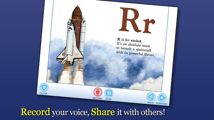 Alphabet of Space - Smithsonian Alphabet Books screenshot-3