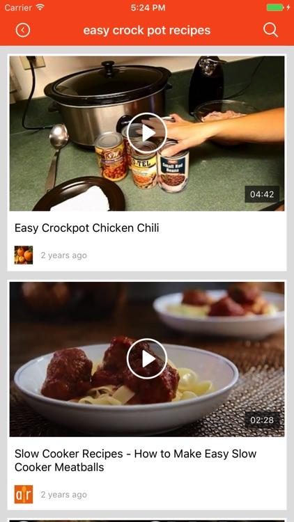 Healthy crockpot Recipes: Food recipes & cookbook screenshot-3