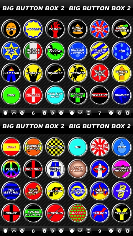 Big Button Box 2 - funny sound effects & sounds - Online