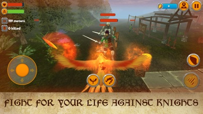Phoenix Fantasy Fire Bird Simulator 3D screenshot two