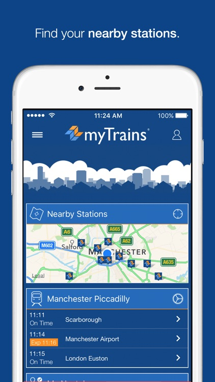 myTrains train times and tickets screenshot-0