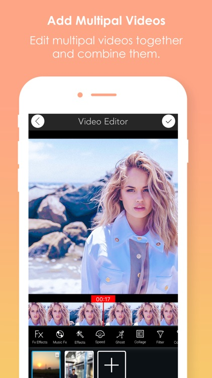 Video Editor Edit Cool Filters And Effects screenshot-0