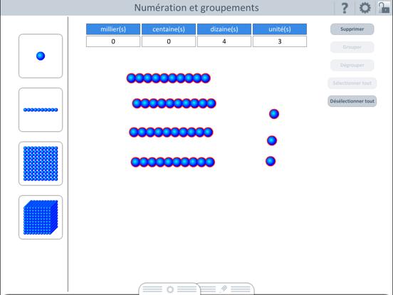 Outils pour l'école : Numération et groupement screenshot three