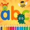 Coloring Book ABC Spanish Alphabet Games age 1-10
