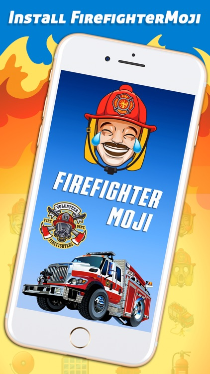 FirefighterMoji - Firefighter Emoji Keyboard