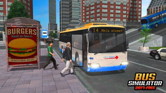 city bus driving simulator