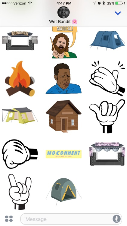 The Official Bonanza Campout Sticker App screenshot-3