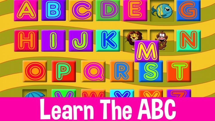 Kids shape puzzle animals alphabet & colors