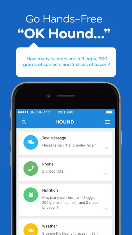 HOUND Voice Search & Assistant screenshot-3