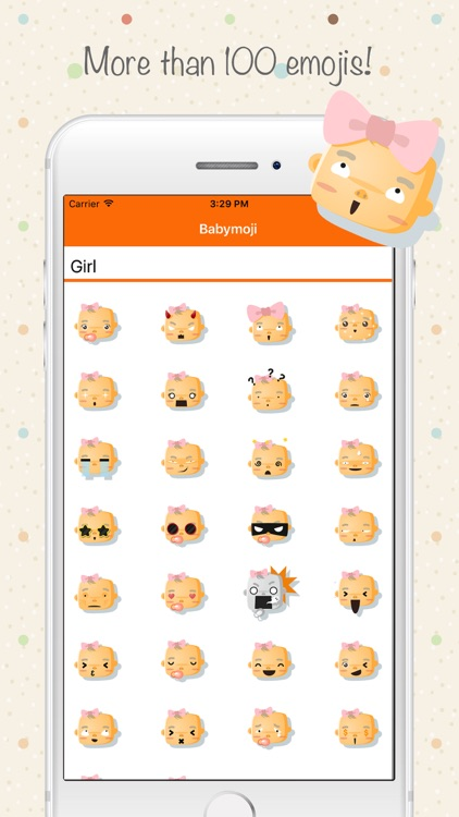 Babymoji - Emoji & Stickers screenshot-3