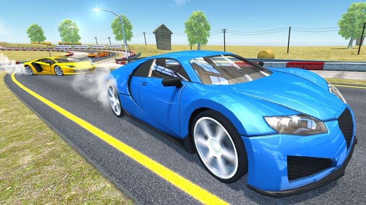 Extreme Car Racer: Sports Racing Car