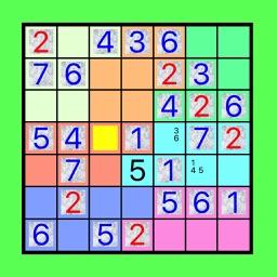 7x7!? Easy SUDOKU Eccentric Version