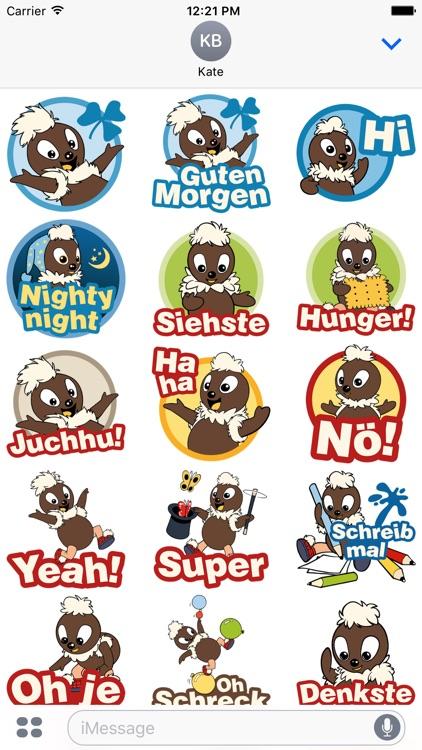 Pittiplatsch Stickers