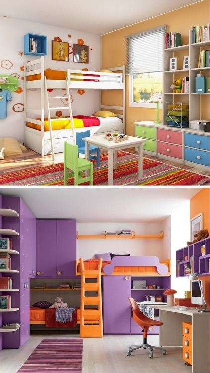 Kids Room Interior - Home Design Ideas for Kids screenshot-4