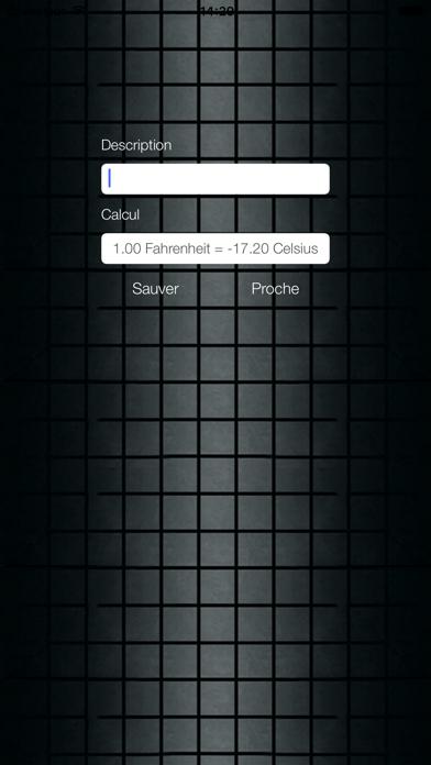 Screenshot #3 pour Fahrenheit Celsius