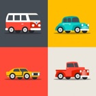 Vehicles Car Train Drawing Colouring For Kids icon