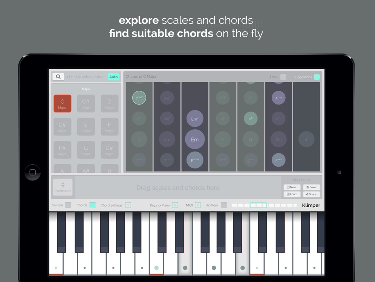 kord - Find Chords and Scales screenshot-0