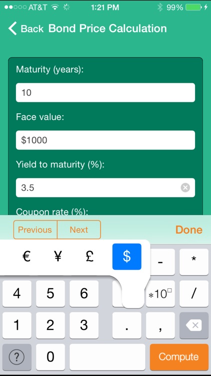 Wolfram Personal Finance Assistant App