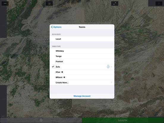 SITREP Tactical Mapping (iTAK) Screenshots