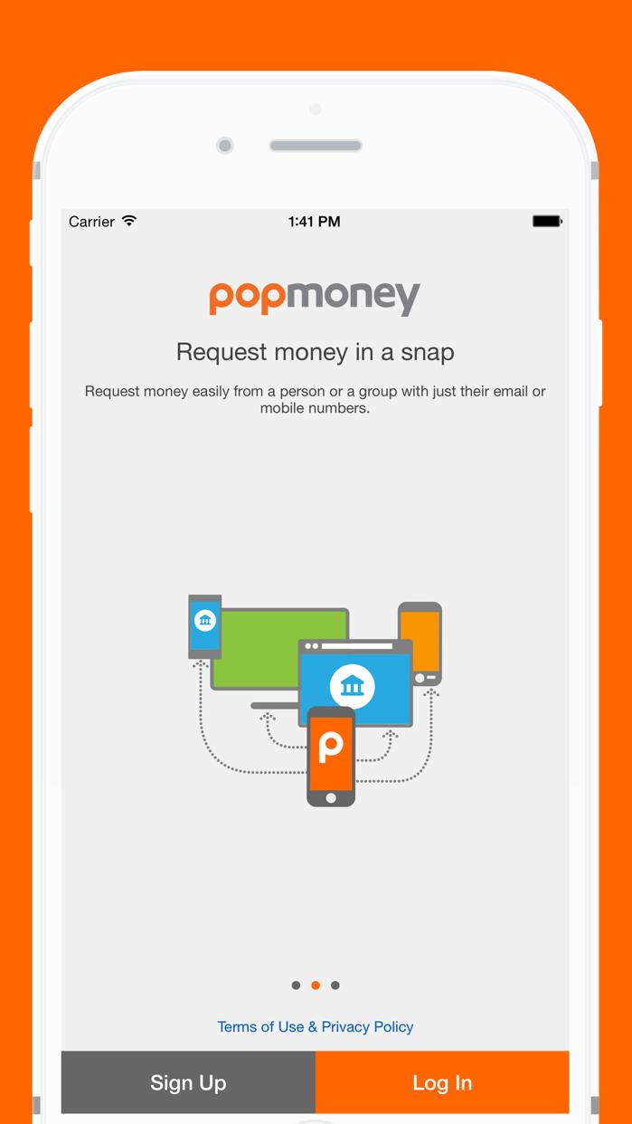 Popmoney Screenshot