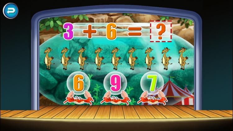 Circus Math School-Toddler kids  learning games screenshot-3