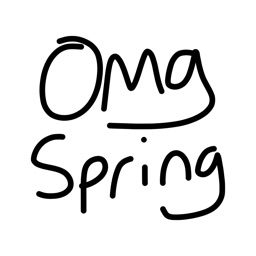 Spring pic emoji & keyboard stickers for iMessage