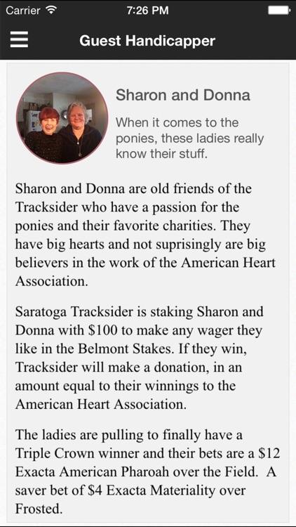 Saratoga Tracksider