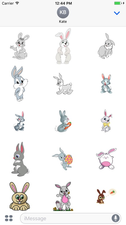 Hares Stickers