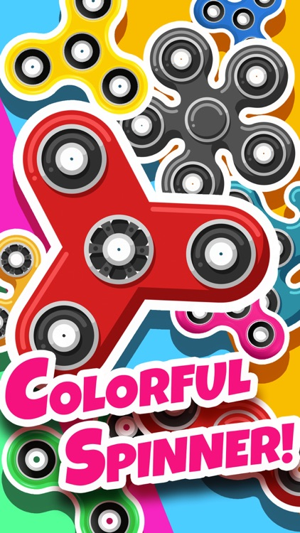 Fidget Spinner Color