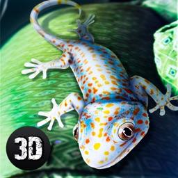 Gecko Lizard Survival Simulator 3D