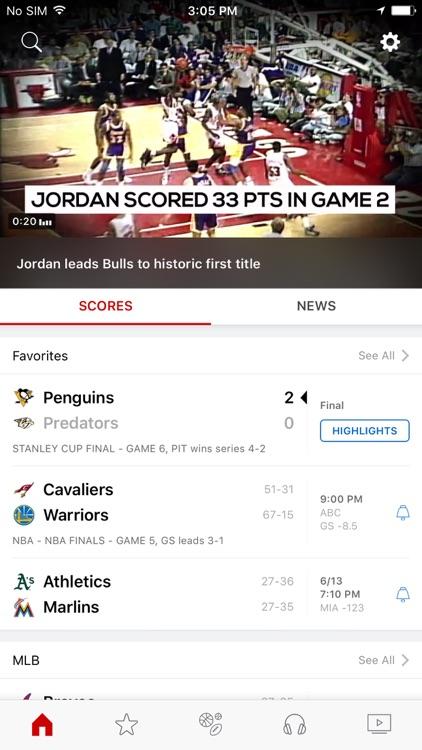 ESPN: Watch Live Sports and Scores screenshot-0