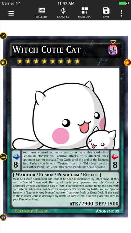 Card Maker Creator for YGO