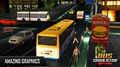 バスシミュレーター2017 - 市のバスバス運転のバスのスクリーンショット3