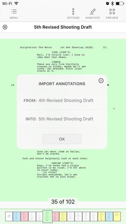 Scriptation PDF for Film & TV