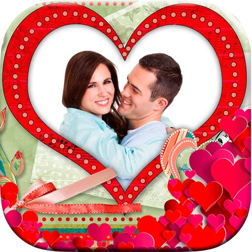 Photomontage Romantic Love Frames - Photo editor by Landay Apps
