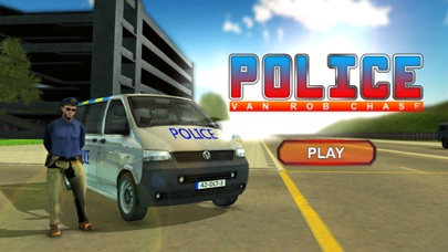 Police Van Rob Chase - Traffic Racing Game