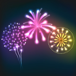Animated Fireworks Celebration Stickers