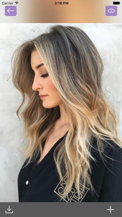 Salon Styler Beautiful Hair Color Ideas For Girls App Data - Beautiful hairstyle salon app
