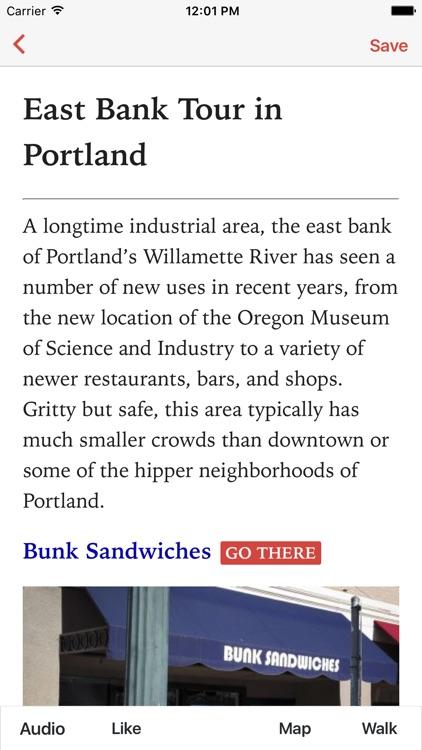 East Bank in Portland (L)