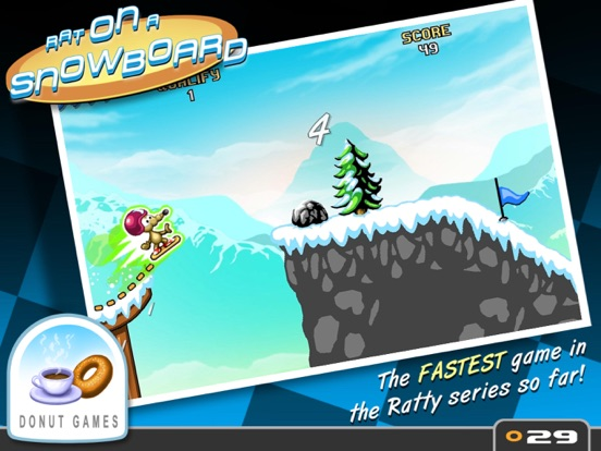 Rat On A Snowboard Screenshots