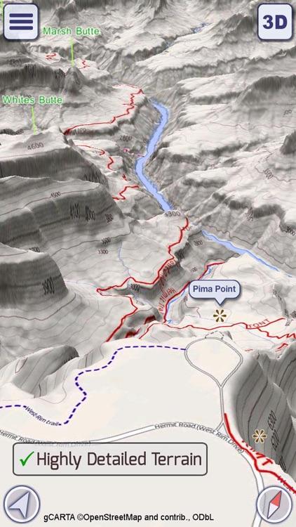 GeoFlyer US Canada 3D Maps LT screenshot-3