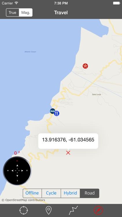 SAINT LUCIA – GPS Travel Map Offline Navigator screenshot-4