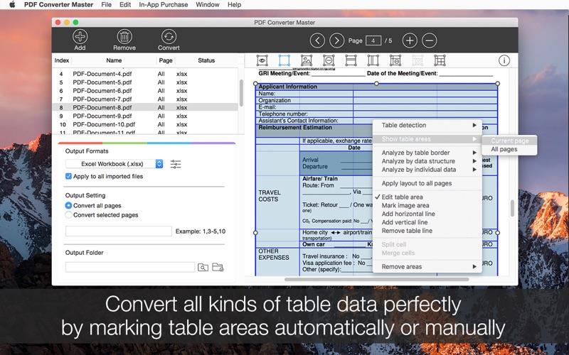 PDF Converter Master Screenshot