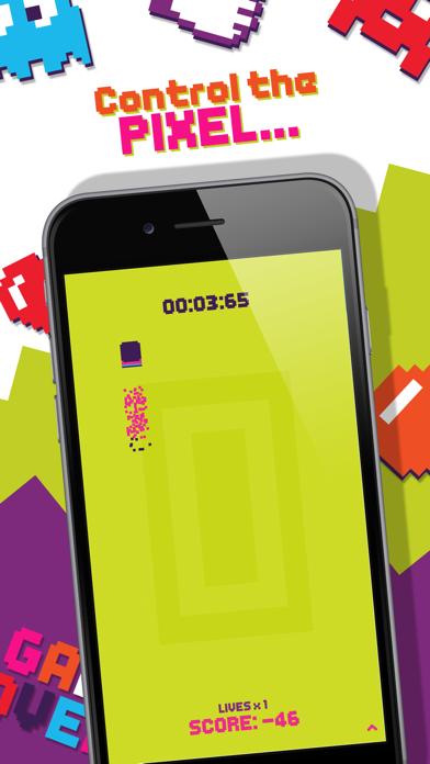 Pixel Dash - Test Your Reaction Speed Game screenshot 1